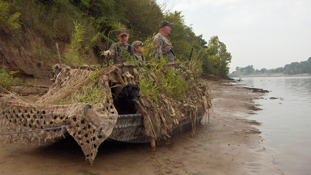 Waterfowl Blinds And Camouflage Meateater Hunting