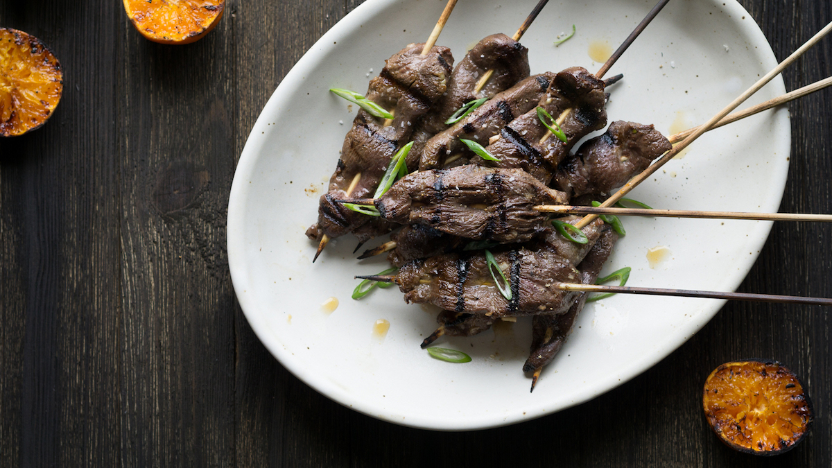 Five-Spice Goose Skewers Recipe | MeatEater Cook
