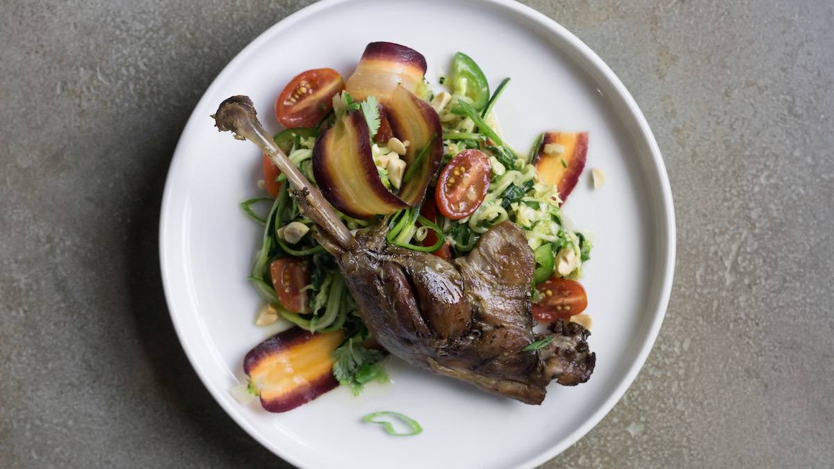 Confit Goose with Thai Salad Recipe | MeatEater Cook