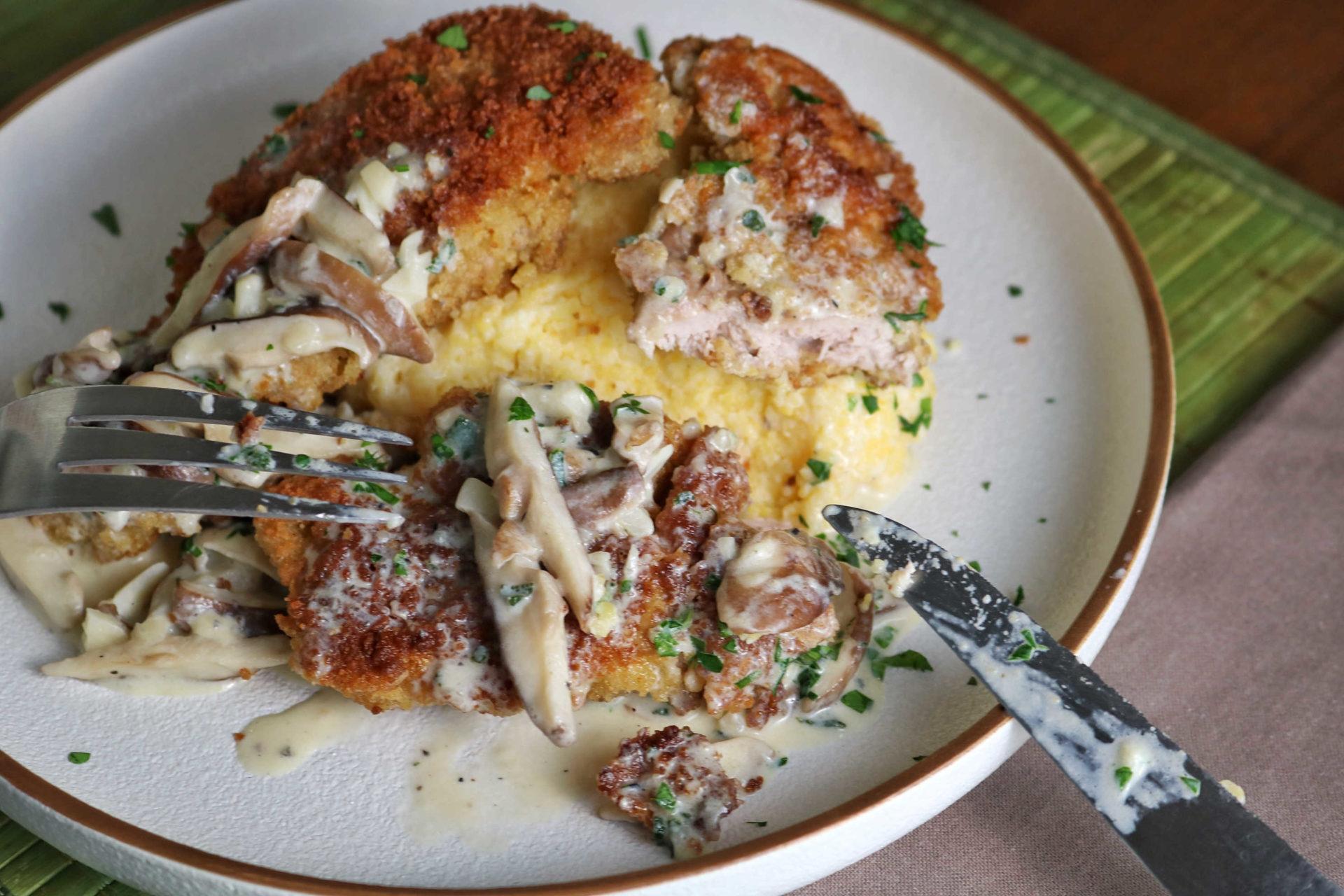 rabbit schnitzel