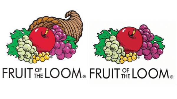 Fruit of the Loom Logo Comparison