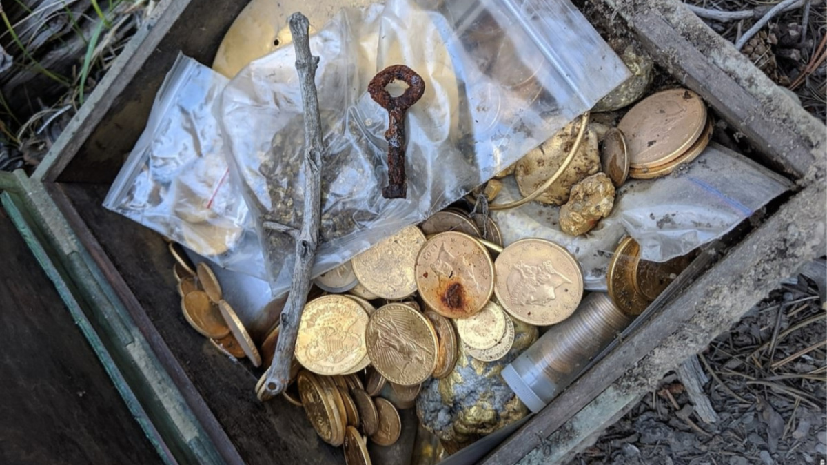 picture of forrest fenn treasure