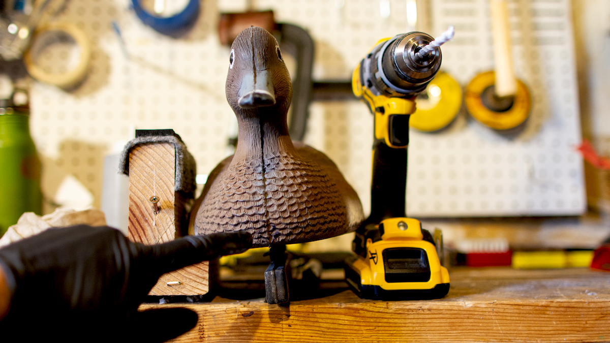 How to restore duck and goose decoys