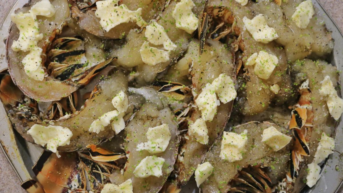 spiny lobster recipe