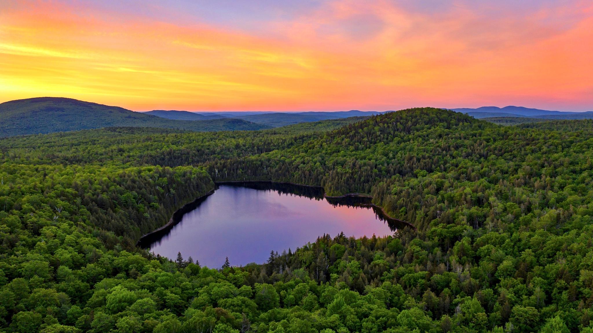 Shiloh Pond Sunset
